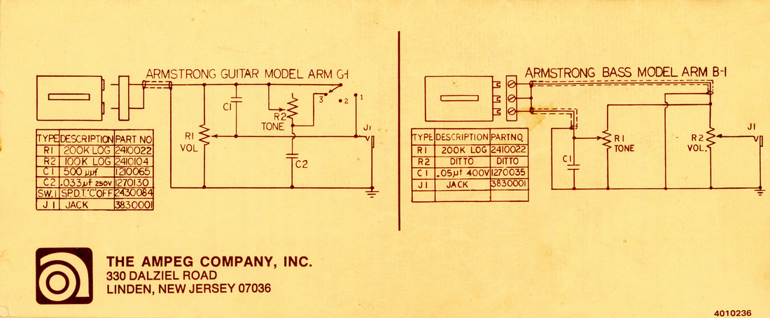 dan armstrong registry faq da registry Wiring Armstrong Diagram Pge10c60d150c above, first generation dan armstrong wiring diagram as printed on the back cover of the care \u0026 maintenance brochure supplied with each guitar or bass